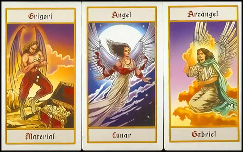 Tarot of the angels interactive